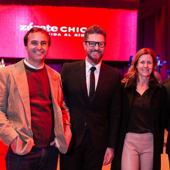 Alejo García Guevara, Adrián Pavía y Valeria Scaglia