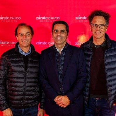 Matías García Guevara, Francisco Jorge y Tino Lutteral