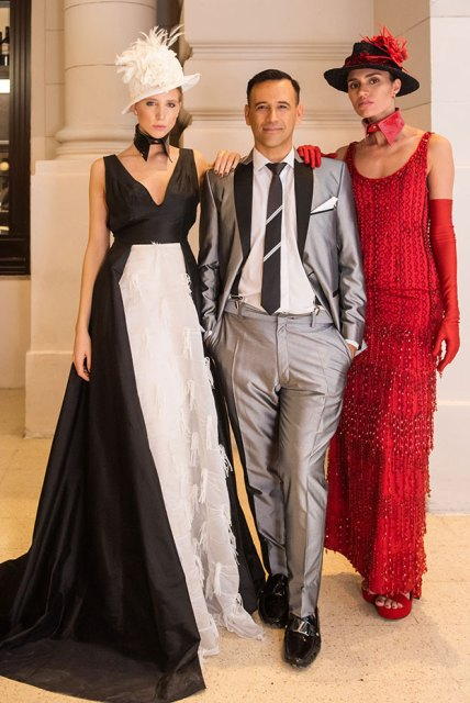 Juan Vitto y modelos