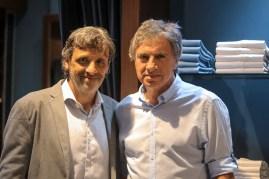 Pato Cattaneo y Daniel Serbali