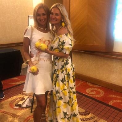 Lorena Lasca y Lily Sciorra