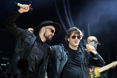 Abel Pintos y Ciro Martinez