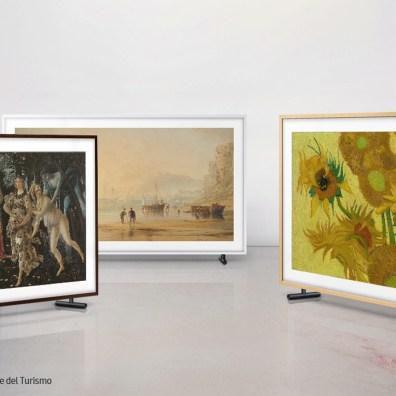 The Frame, la tecnología que lleva arte al hogar