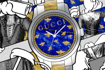 Gucci inyecta arte alrededor del reloj G-Timeless