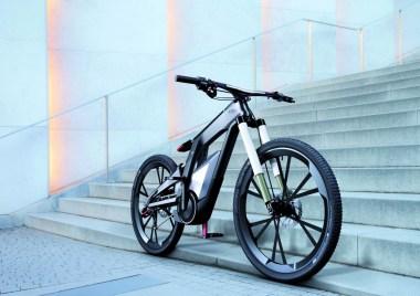 Audi e-bike Wörthersee, la bicicleta futurista