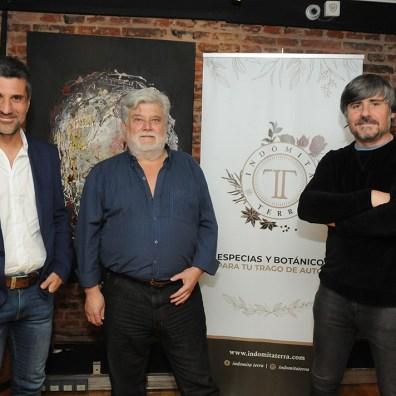 Esteban Vazquez Oscar Tarrio y Federico Schneidewind