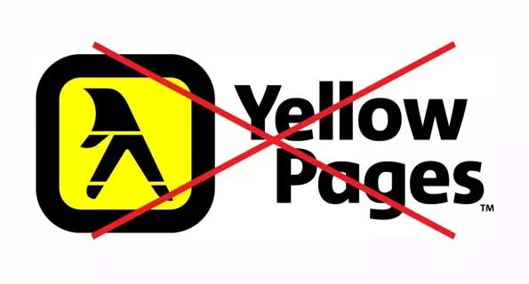 yellow pages redundant