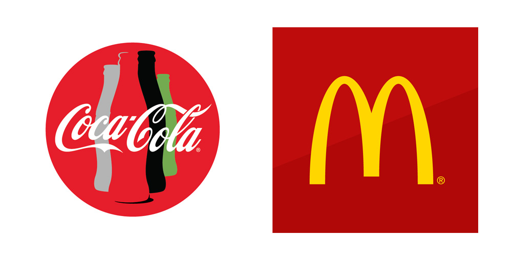 McDonalds & Coca-Cola brands