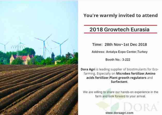 2018 growtech Eurasia