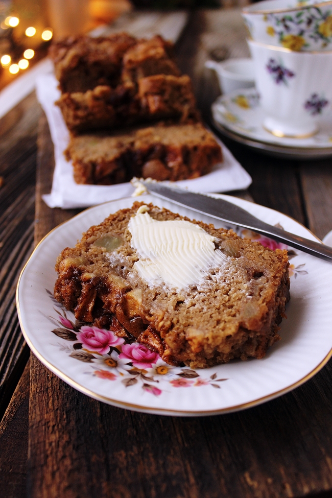 Apple Loaf Cake Dora S Daily Dish