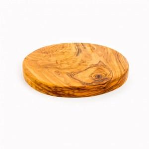 handgemaakte olijfhouten ronde plank
