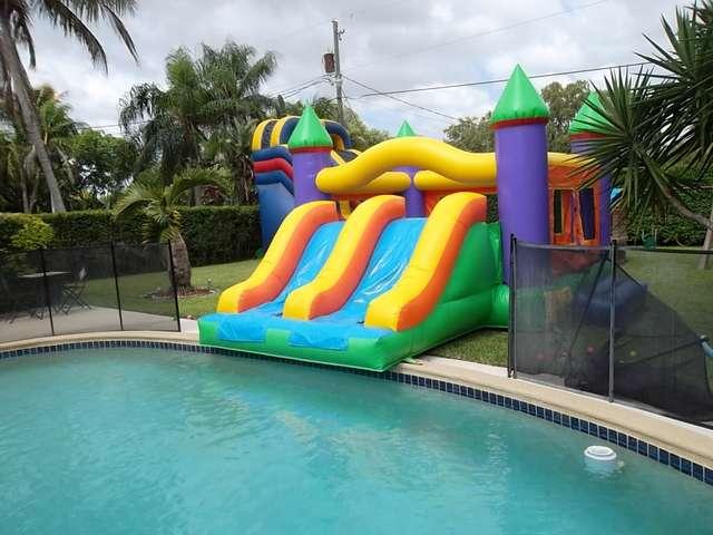WATER SLIDES  Doral Party Rental