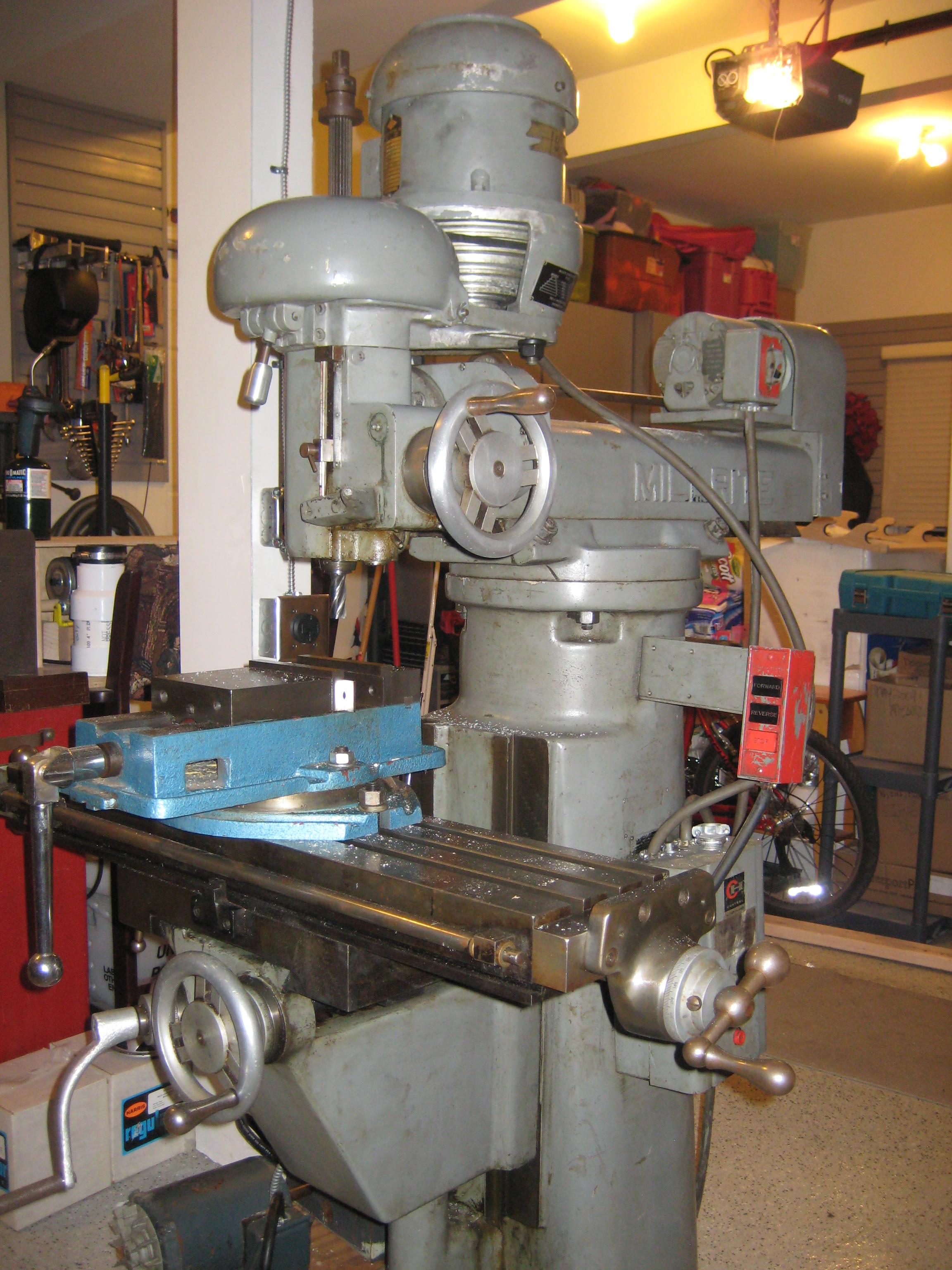 Burke Milling Machine