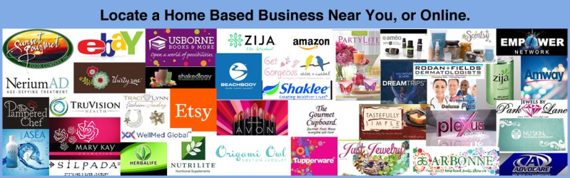 Find Home Based Business Near You, or Online.