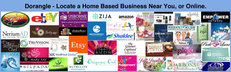 Dorangle - Locate a Home Based Business Near You, or Online.