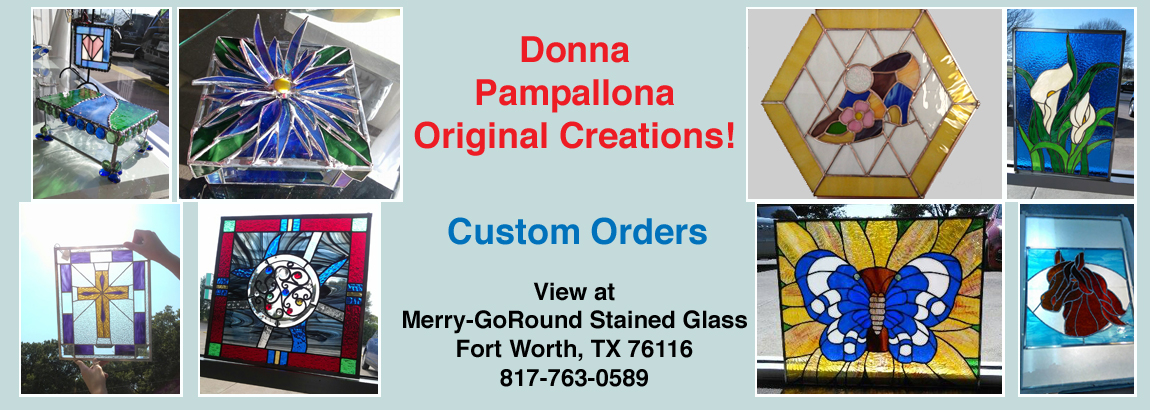Donna Pampallona - Stained Glass Artist