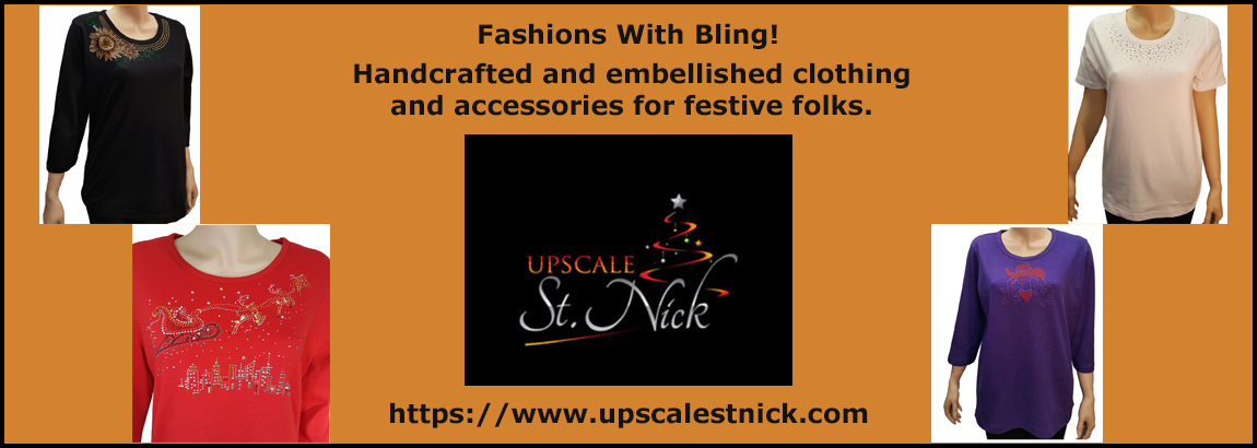 Upscale St. Nick - Bling Fashions
