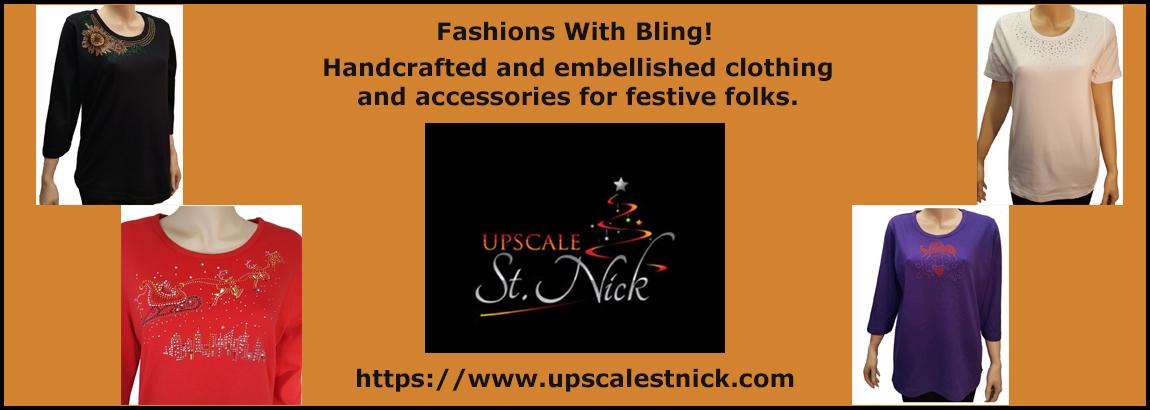 Upscale St. Nick - Bling Fashions
