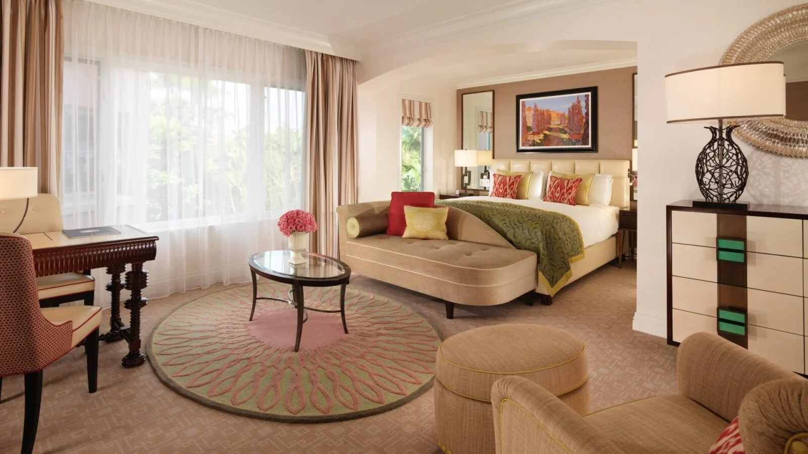 deluxe room at the beverly hills hotel