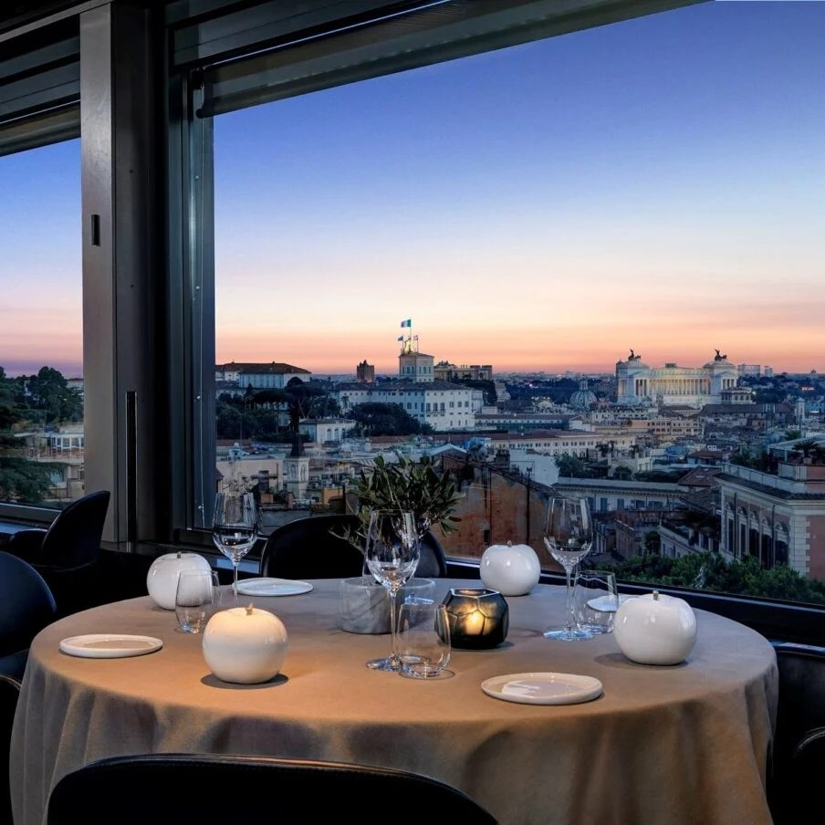 Restaurants  Bars  Rome  Hotel Eden  Dorchester Collection