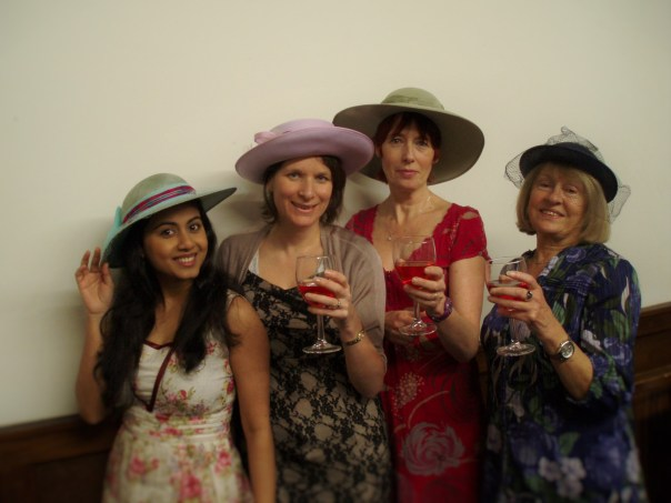 """Leading Characters of Dorchester Drama's """"Ladies Day"""" by Amanda Whittington."""