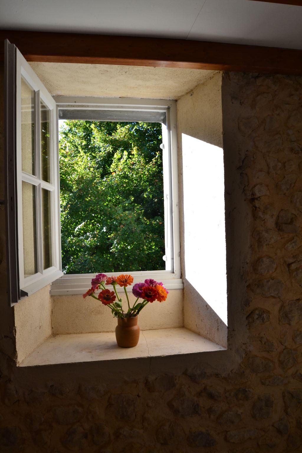 Window in Bedroom of south Barn