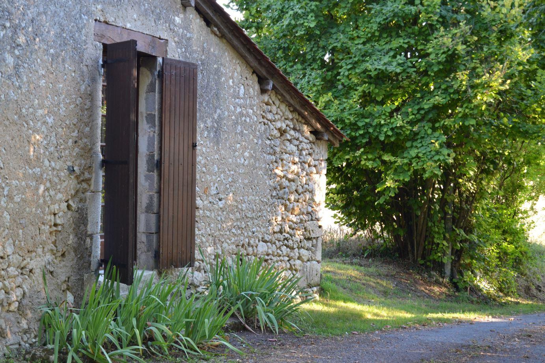 South barn windows