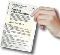 le certificat d immatriculation les