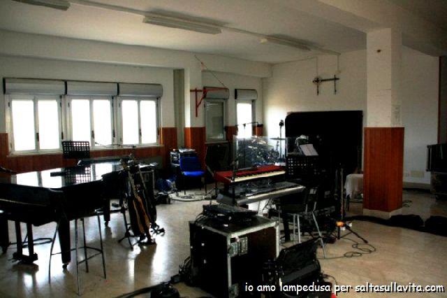 Foto della sala prove  doremifasolorg