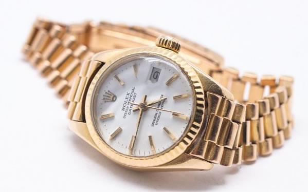 Rolex en or