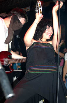 Power Pop? Punk? Indie Rock? A bit of Retro Disco? You Say Party! We Say Die! Photo © Dorfdisco 2006