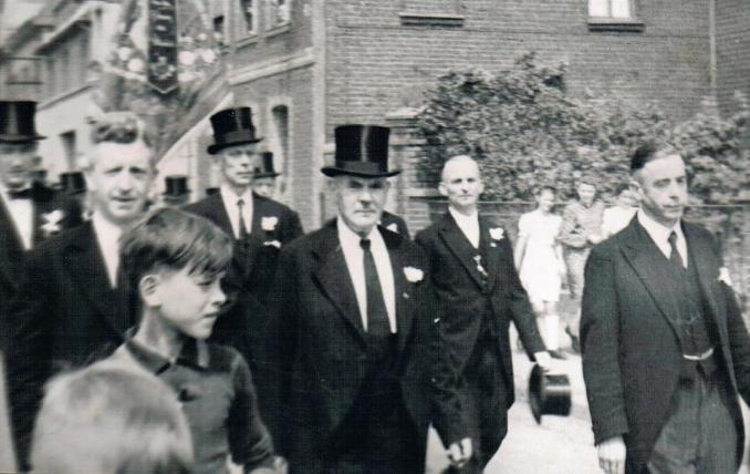 Festumzug MGV 1948 (Foto von Jakob Klug)