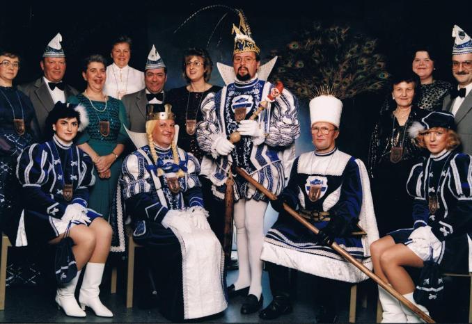 Fischenicher Dreigestirn 1988 (Foto von und mit Jakob Klug)