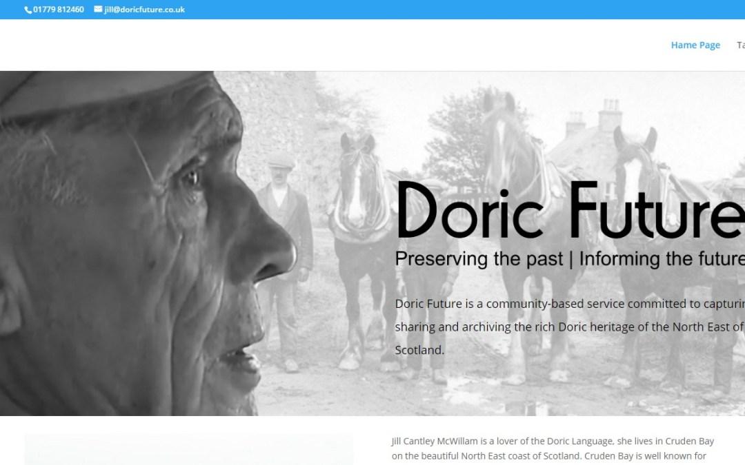 Doric Future website | Doric Future