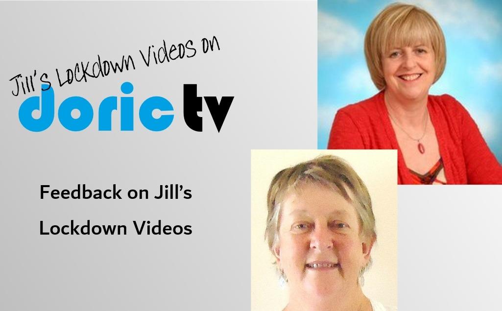 Doric TV – Feedback on Jill's Lockdown Diaries