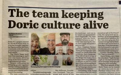 Meet the team keeping Doric culture alive