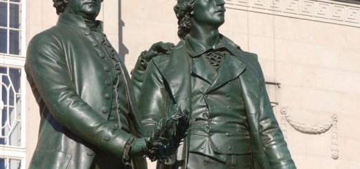 Weimar - Goethe & Schiller