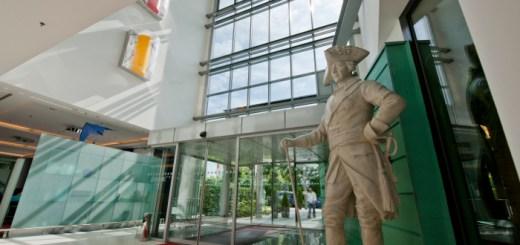 Statue Friedrich II im Dorint Sanssouci Berlin/Potsdam