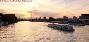 spree, gesehen von der oberbaumbrücke, berlin friedrichshain visitberlin