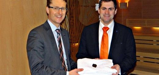 Stefan Seiler und Steffen Fischer