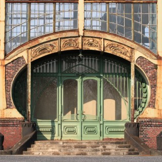 Zeche Zollern, Eingangstor zur Maschinenhalle