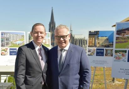 Die Geschäftsführung der Dorint GmbH Karl-Heinz Pawlizki, CEO (links) und Jörg Thomas Böckeler, COO. Fotograf: Roland Breitschuh