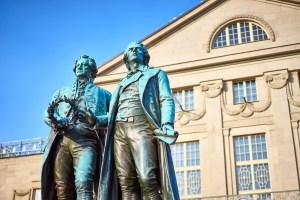 Mehr als Goethe und Schiller in Weimar