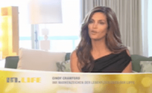 VoiceOver Cindy Crawford im In.Life TV-Feature: Doris Lauerwald