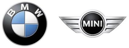 BMW AG Logo Mini White