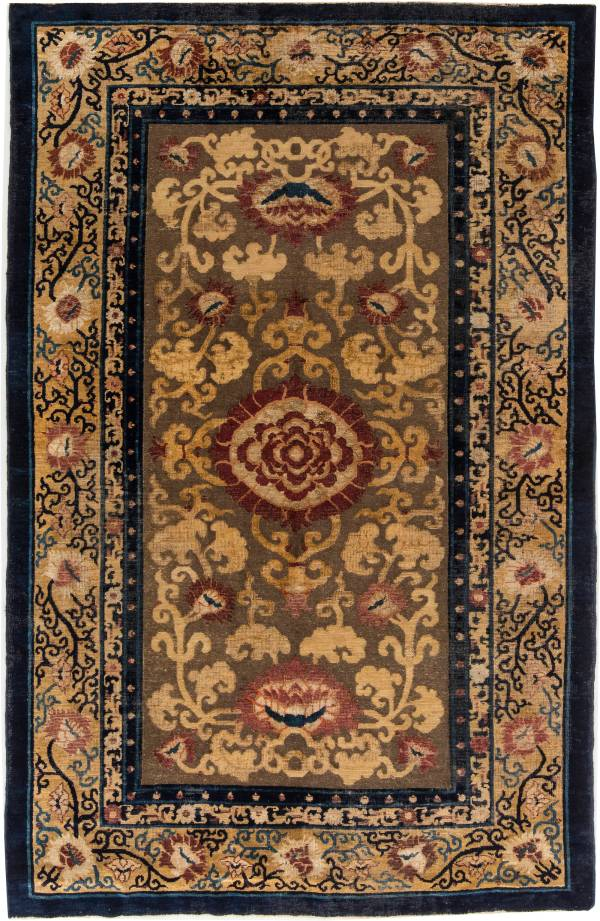 Chinese Rugs & Carpets Antique Oriental Art Deco