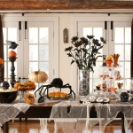 Scary Stylish Glamorous Halloween Decor By Dlb