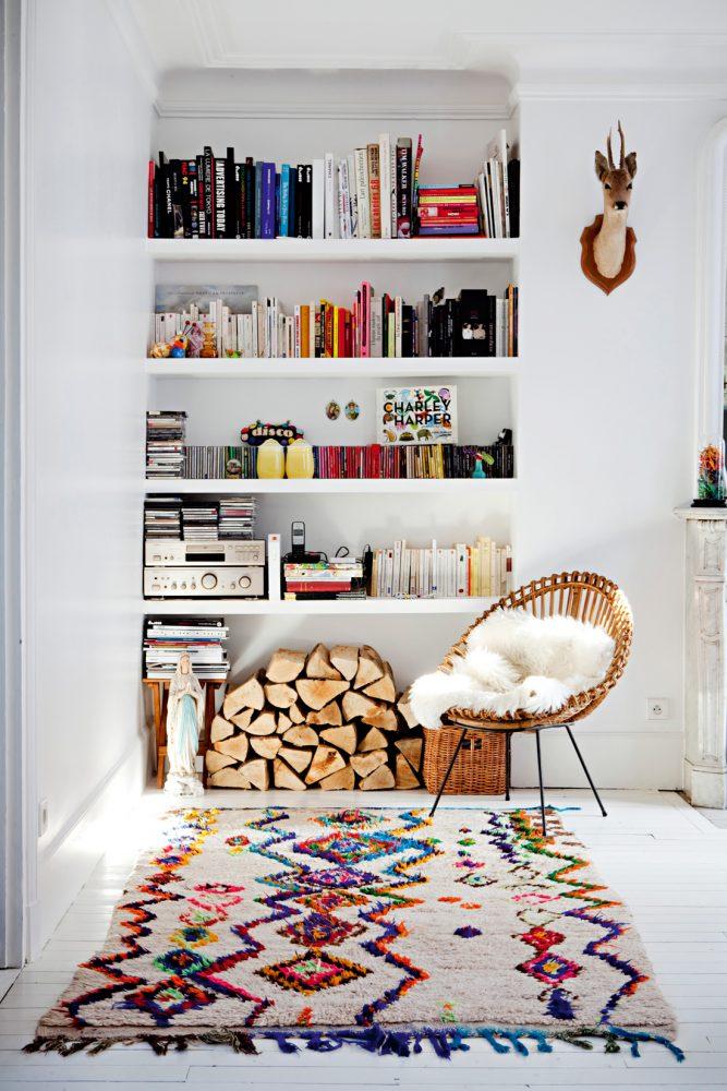 kitchen rug runners big lots furniture 室内趋势提示 boucherouite地毯为真正的boho氛围 boucherouite地毯 摩洛哥地毯 boho室内装饰