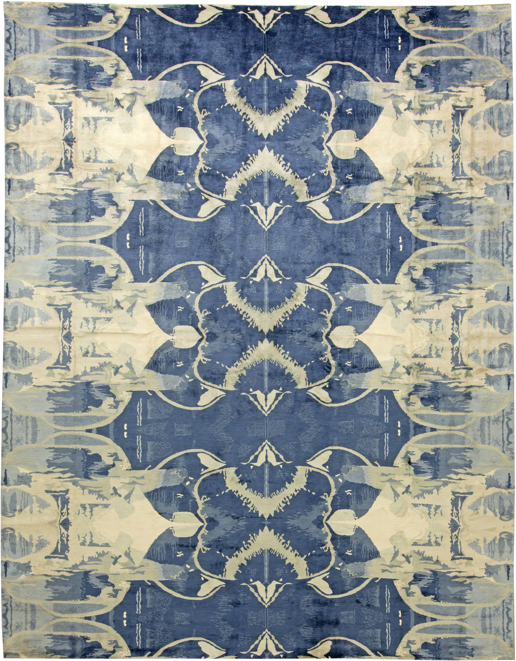 Contemporary Blucie Designed Rug N11283 By Dlb