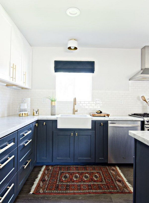 By Two Toned Cabinets A New Trend That Will Redefine Your